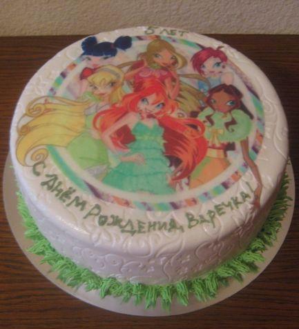 Фото торт винкс екатеринбург